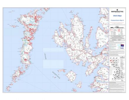Postcode Sector Map 30 Uist and Skye